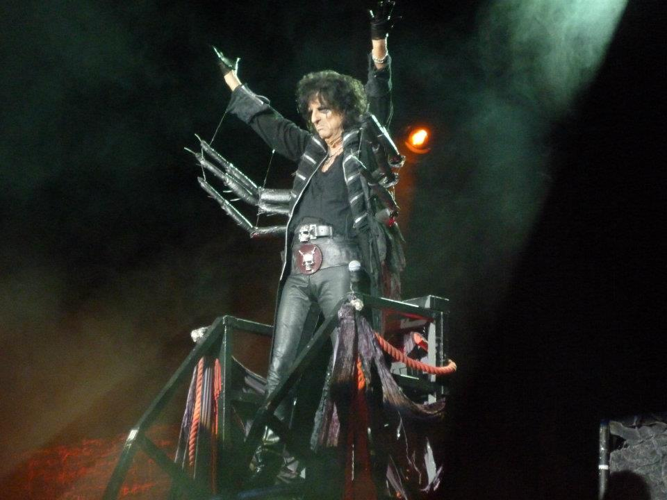 Alice Cooper a Paris