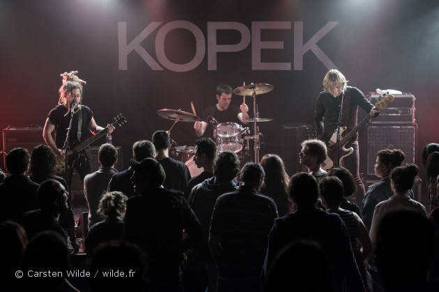 kopek band photo paris