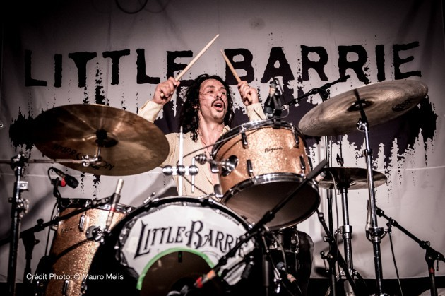 Little Barrie performing in Paris, La Boule Noire. Crédit Photo:© Mauro Melis