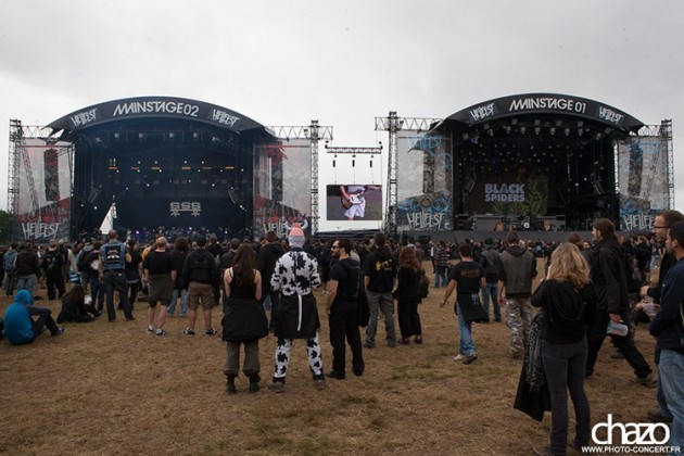 ambiance decor hellfest