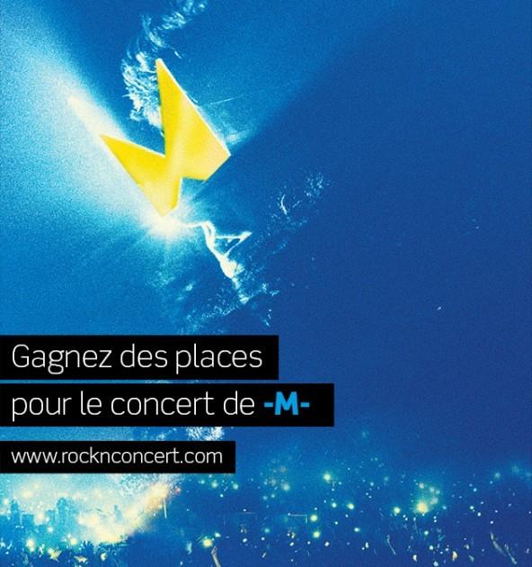 2×2 places pour le concert -M- gangner 0