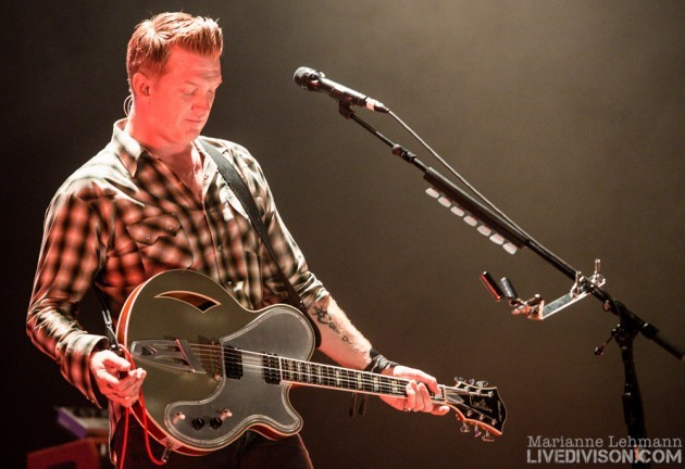 Queens of the stone age, Zenith, Paris, 2013/11/14