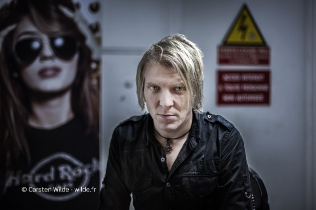 Mikko Siren (Apocalyptica) photo interview