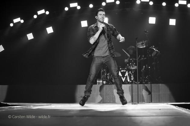 Adam Levine  concert photo