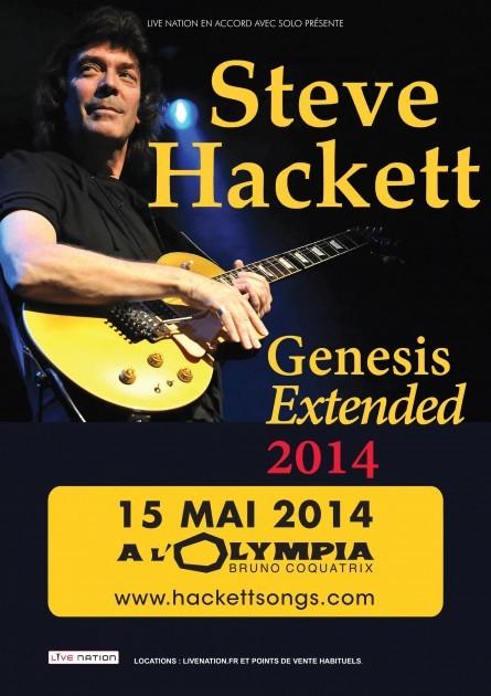 STEVE HACKETT - Olympia, 15 mai 2013