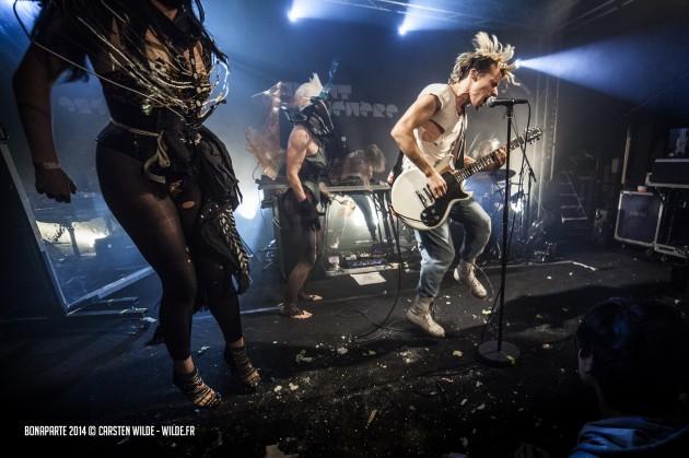 Concert Shooting Band Bonaparte /15.11.2014 / Paris