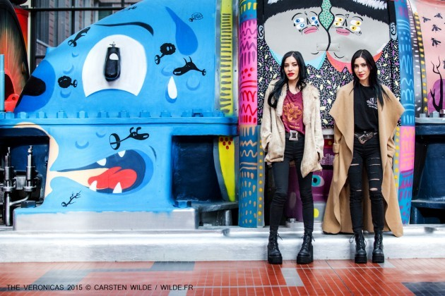 the veronicas shooting paris