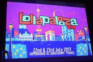 Festival Lollapalooza à Paris