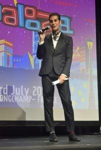 Perry Farrel à la conférence de presse du Lollapalooza Paris