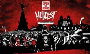 "Affiche film documentaire ""Open the doors : Hellfest"""