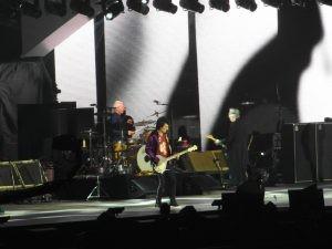 The Rolling Stones sur la scène da la U Arena pour le No Filter Tour