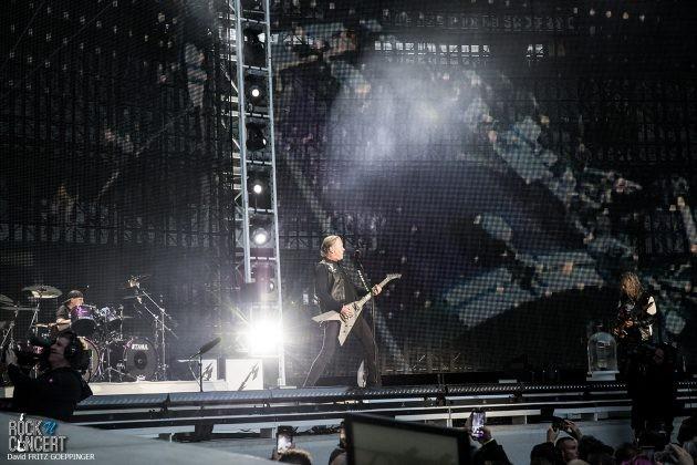 Metallica au Stade de France le 12 mai 2019