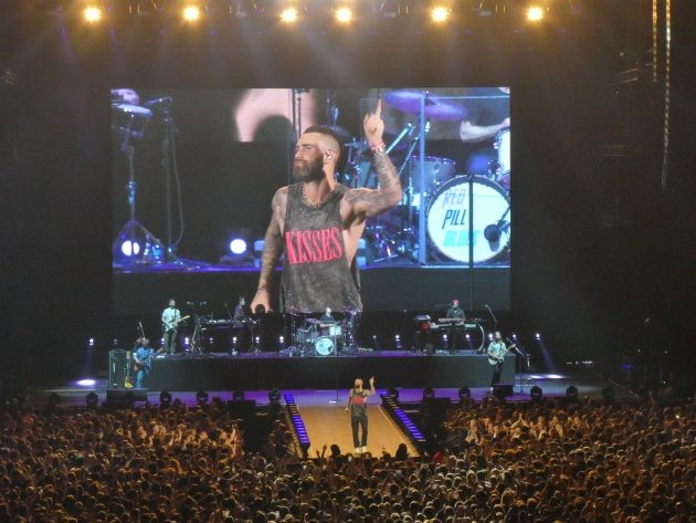 Maroon 5 à l'AccorHotels Arena le 11 juin 2019