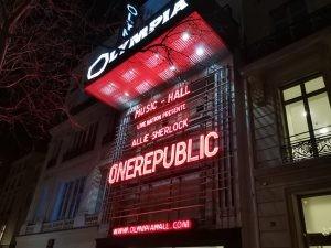 OneRepublic à l'Olympia